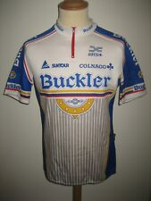 Buckler vintage 1990 Holland jersey shirt cycling Colnago maillot trikot size L