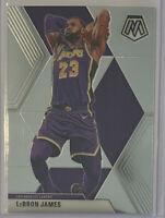 2019-20 Panini Mosaic Basketball LeBron James Los Angeles Lakers Base Card No. 8