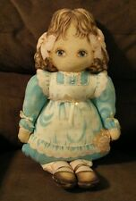 Vintage Fabric Panel Doll Completed Girl