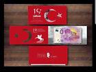 Atatürk 0.- Euro Samsun 100 Jahre - Türkei Turkey w/ folder UNC