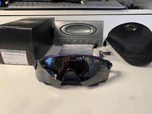 Radar EV Matte Shadow Camo Electric Purple - Infinite Hero Collection