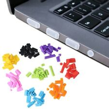 13Pcs Silicone Anti Dust Plug Stopper Universal Dustproof Port Cover For Laptop