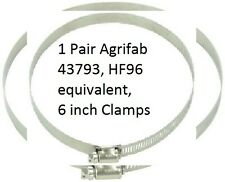 Agri-Fab 43793, HF-96 Clamps 6 Inch MOW-N-VAC Hose, 2Pcs. Quality and Economy!