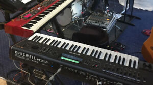 Kurzweil PC3K With Flight Case and Sample libraries