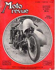 MOTO REVUE 1097 NSU ET LE SPORT 1952