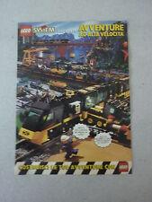 ADVERTISING PUBBLICITA' LEGO SYSTEM presenta AVVENTURE AD ALTA VELOCITA'  --1999