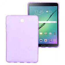 FUNDA DE SILICONA LILA para Samsung Galaxy Tab S2 8.0 T710 t715n