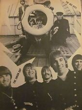 The Bee Gees, The Union Gap, Full Page Vintage Pinup