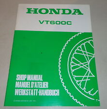 Werkstatthandbuch Ergänzung Workshop Manual Supplement 1995 Honda VT 600 C Shado