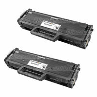 2PK MLT-D101S MLTD101S BLACK Toner Cartridge for Samsung ML-2165 SCX-3405 SF-760