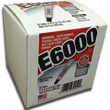E-6000 Jewellery & Craft Glue Adhesive 5.32ml tube number variations USA MADE