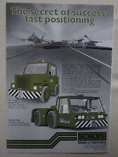 1/86 PUB SCHOPF MASCHINENBAU STUTTGART F57 F106 TOWING PUSHING F-15 KC 130 AD