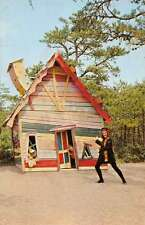 Cape Cod Massachusetts Storyland Crooked House Vintage Postcard K62418