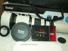 Vivitar 650-1300mm F8-16 Telephoto Zoom Lens OUTFIT New for ALPA SLR CAMERA
