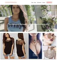 Ladies Fashion Website Business - Earn $229 A SALE. Domain|Hosting|Traffic