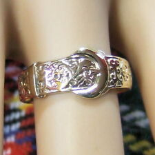 9 ct GOLD  second hand buckle ring