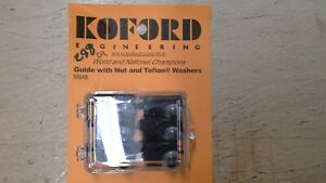 Card of 6 Koford guide with nut Part number M648