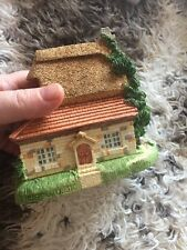 The Manchester by Olde England's Classic Cottages Light Brown Roof collectible