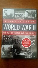 ULTIMATE COLLECTIONS: WORLD WAR 2 - THE WAR IN EUROPE AND THE PACIFIC NEW/SEALED