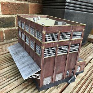 OO Gauge Factory / Mill, Ready Made Plastic Model, Railway Model, Suit Bachmann