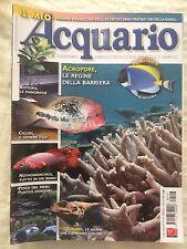 IL MIO ACQUARIO n.118 anno 2008 rivista di pesci rettili piante invertebrati...