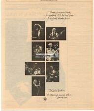 1980 The Doobie Brothers Thanks to All Our Friends Vtg Print Ad