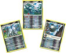 RARE MAGNEZONE+MAGNETON+MAGNEMITE -3 Pokemon EVO Set-STORMFRONT-REV HOLO NM/M