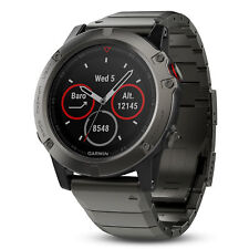 Garmin fenix 5x Sapphire Slate Gray with Metal Band 51mm