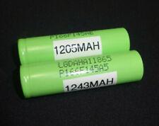 2x LG 18650 15A Lithium High Drain Power Smok Battery Cell Priv V8 LGDAHA11865A