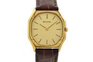 Vintage Bulova P2 Manual Wind Gold Plated Ladies Petite Watch 988