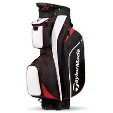 TAYLORMADE PRO 4.0 BLACK/WHITE/RED CART BAG