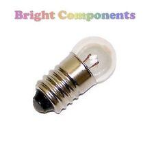 2x MES miniatura LAMPADA LAMPADINA: 2.5 V 200mA: 11 mm:' E10: 1st Class Post