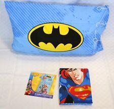 completo lenzuola copriletto cotone singole Superman caleffi prodotto italiano