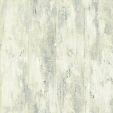 Nantucket Nautical Beach Wood with Blue Wash Sure Strip Wallpaper NY4954