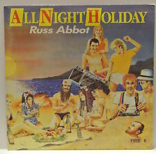 "7"" VINYL SINGLE. All Night Holiday by Russ Abbot. 1985. Spirit. Fire 6."