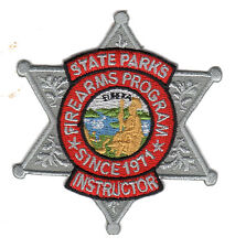 California State Parks - Firearms Program Instructor Patch