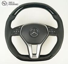 LE TEF® ESCHE HOLZ SCHWARZ Lenkrad für Mercedes-Benz W212 W204 R172 R231 W176