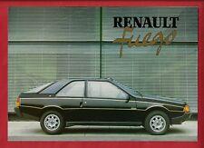 RENAULT FUEGO BROCHURE 5/83