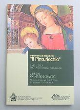 2 Euro San Marino 2013 Pinturicchio st. im Folder