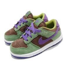 Nike Dunk Low SP TD Veneer Green Purple Brown White Toddler Infant DC8315-200