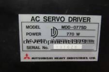 ONE Used Mitsubishi MDD-077SD Servo Drive