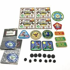 Lot of 16 Boy & Girl Scout Patches And Uniform Buttons Southern California
