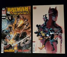 BATMAN AND THE OUTSIDERS #2 Main Cover and Variant