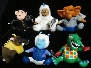 STAR TREK  ALIEN BEANS Meanies Plush Toy Complete Set. LIMITED EDITION 50,000