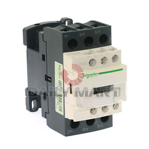 SCHNEIDER ELECTRIC LC1D32M7C 220VAC Motor Control 50A Contactor Rated 3 Poles