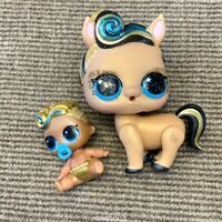LOL Surprise Pets----24K Gold *Luxe Pony* & LIL 24K LUXE GOLD QUEEN DOLLS SDUK
