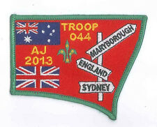 AJ2013 - AUSTRALIA SCOUT NATIONAL JAMBOREE - TROOP O44 SCOUTS BADGE