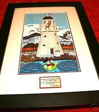 Disney Yacht & Beach Club Front Office Team Framed Pins