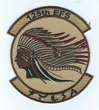 "125th  EXPEDITIONARY FIGHTER SQUADRON OEF 2013 ""TULSA""  (THE LATEST) patch"