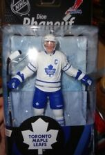 DION PHANEUF TORONTO MAPLE LEAFS CHASE WHITE JERSEY VARIANT MOC FREE U.S. SHIP